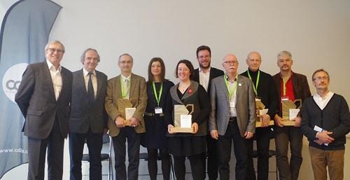 Photo lauréats cocours construction biosourcées batic2 2018