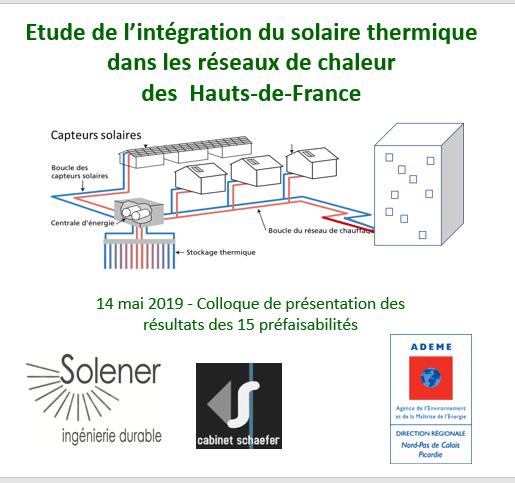 integration solaire dans réseaux de chaleur HdF 2019