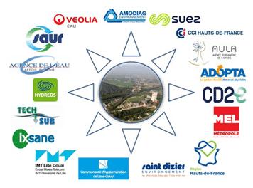 logos collectif EAU HdF 2020