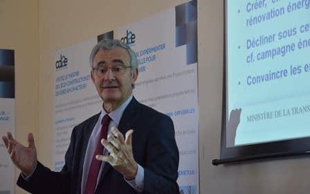Philippe Pelletier - Président du Plan Bâtiment Durable