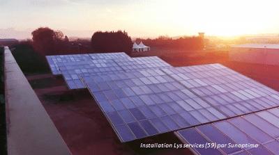 lys services- merville (59) - installation sunoptimo