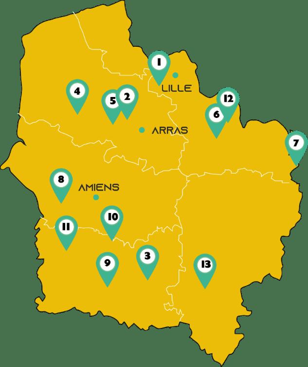 les bâtiments en paille en Hauts-de-France